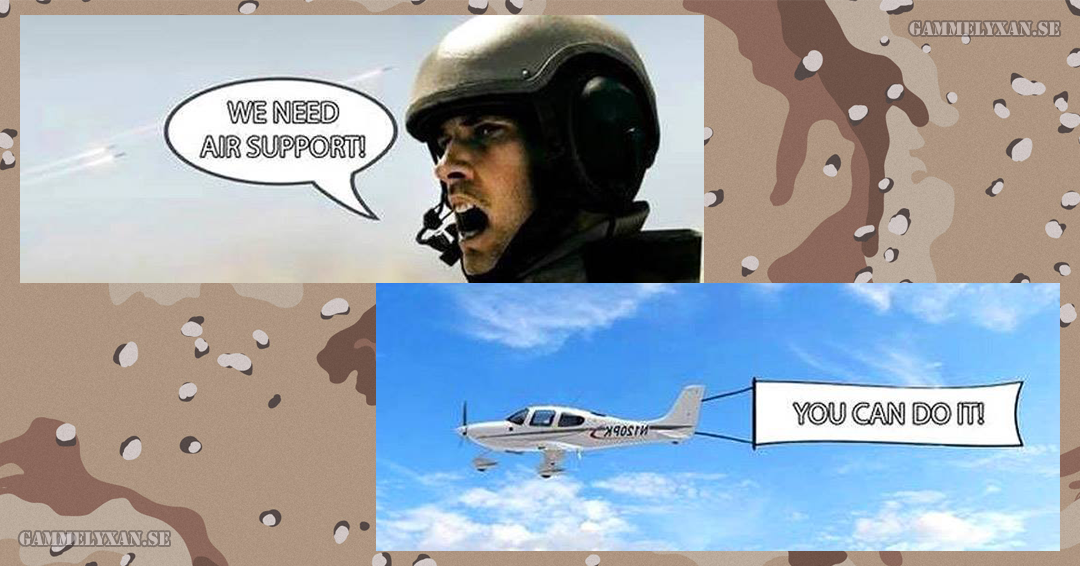 Humor Air Support